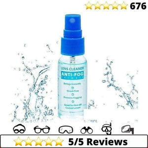 Medical-Defends 1 Bottle (375 Sprays) Anti Fog Spray For Glasses
