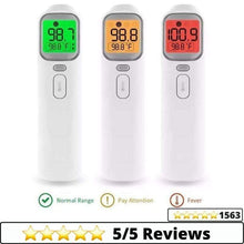 Load image into Gallery viewer, Medical-Defends 1 Pc Retail Pack Thermometer For Adults Forehead