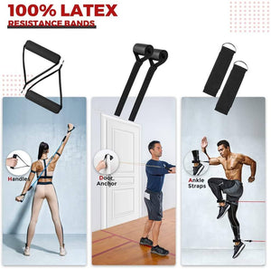 Medical-Defends 1 Pcs Pack 11 Pcs Resistance Bands Set