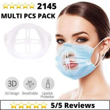 Load image into Gallery viewer, Medical-Defends 10 Pcs Pack 3D Face Mask Bracket Inner Support Frame