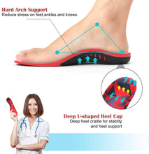 Load image into Gallery viewer, Medical-Defends Arch Support Insoles for Men and Women