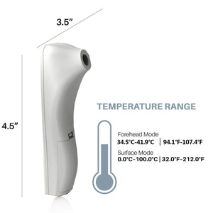 Medical-Defends Thermometer For Adults Forehead