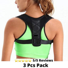 Load image into Gallery viewer, Medical-Defends Women / 3 Pcs Pack Posture Corrector for Women, Men, Kids, Teenager