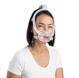 Women wearing ResMed F30i CPAP Mask
