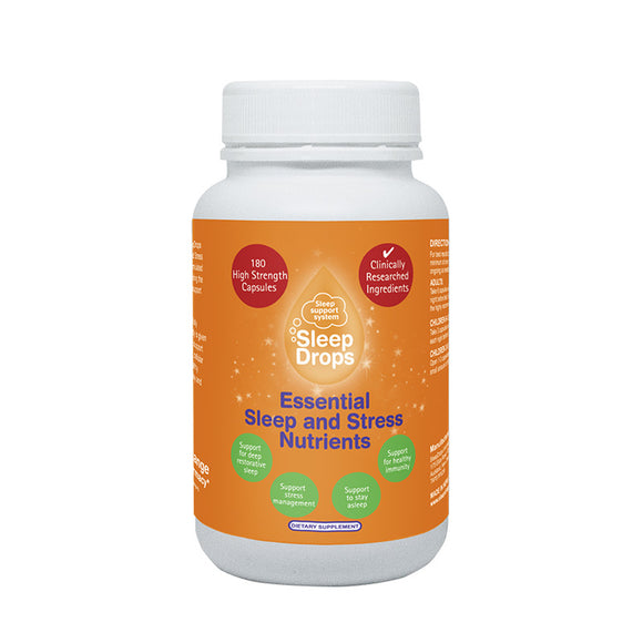 Essential Sleep and Stress Nutrients - 180 capsules