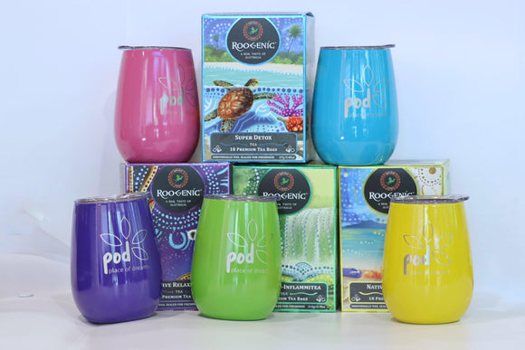 pod insulated tea cup