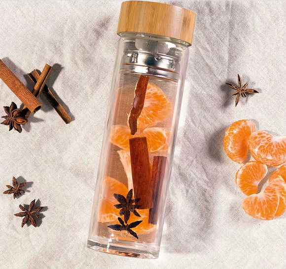POD Tea & Fruit Infuser Bottle