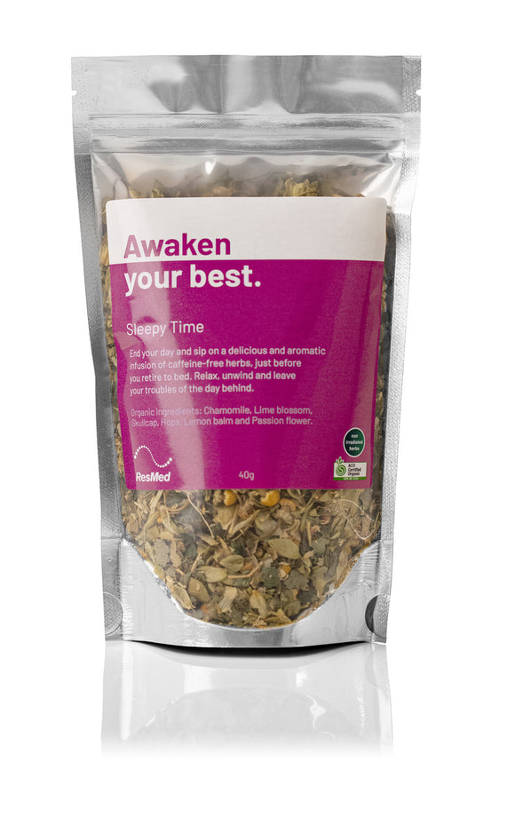 ResMed Sleepy Time loose leaf tea