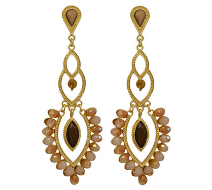 Maharaja Honey Earrings