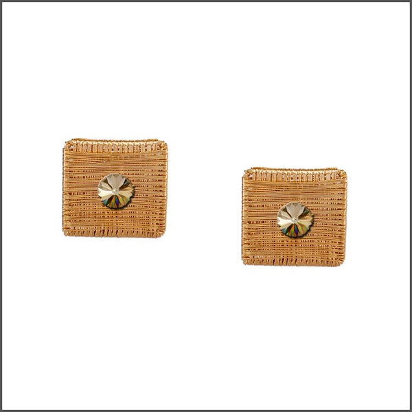 Meshed Up Earrings