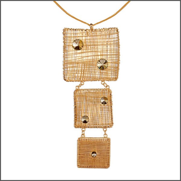 Meshed Up Pendant C