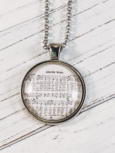 "Amazing Grace with 24"" chain - Simply Blessed"