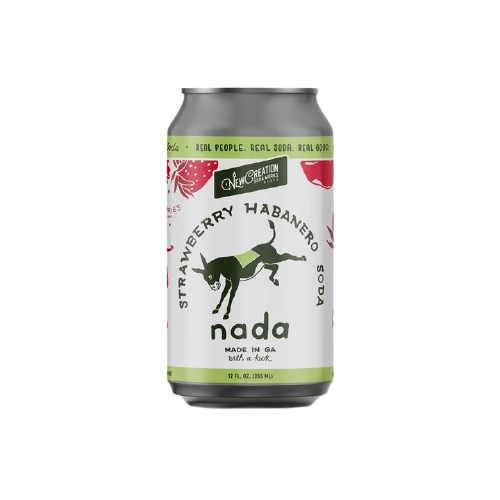 New Creation Nada Strawberry Habenero Soda