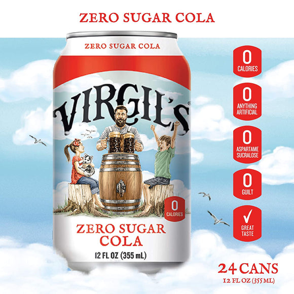Virgils Zero Sugar Cola