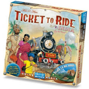 Ticket to Ride - Map Collection 2: India