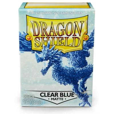 Dragon Shield Matte Clear Blue