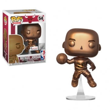 Funko POP! NBA Bulls - Bronze Michael Jordan #54 Figure (Exclusive)