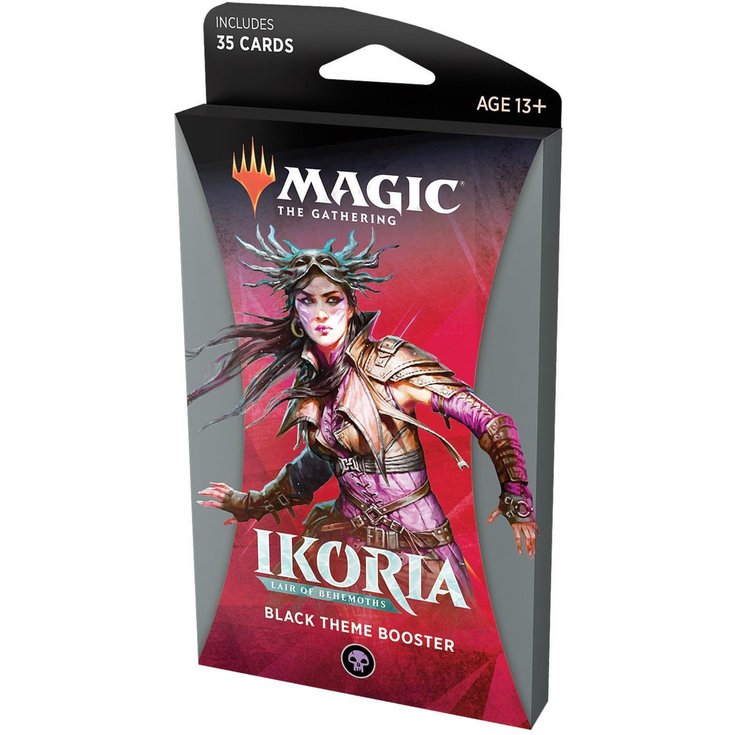 Magic the Gathering Ikoria: Lair of Behemoths Theme Booster - Black