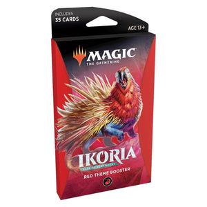 Magic the Gathering Ikoria: Lair of Behemoths Theme Booster - Red