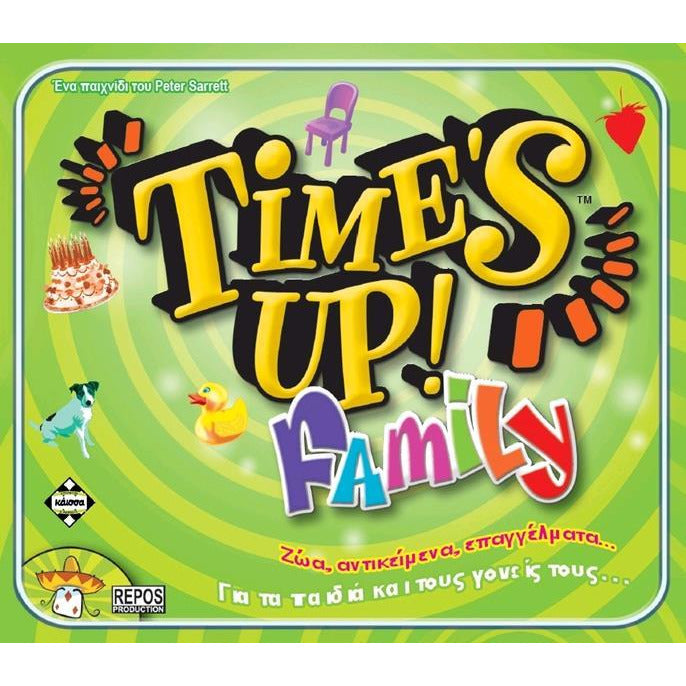 Time's Up! Family (Greek Version)
