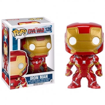 Funko POP! Captain America 3: Civil War - Iron Man #126 Bobble-Head