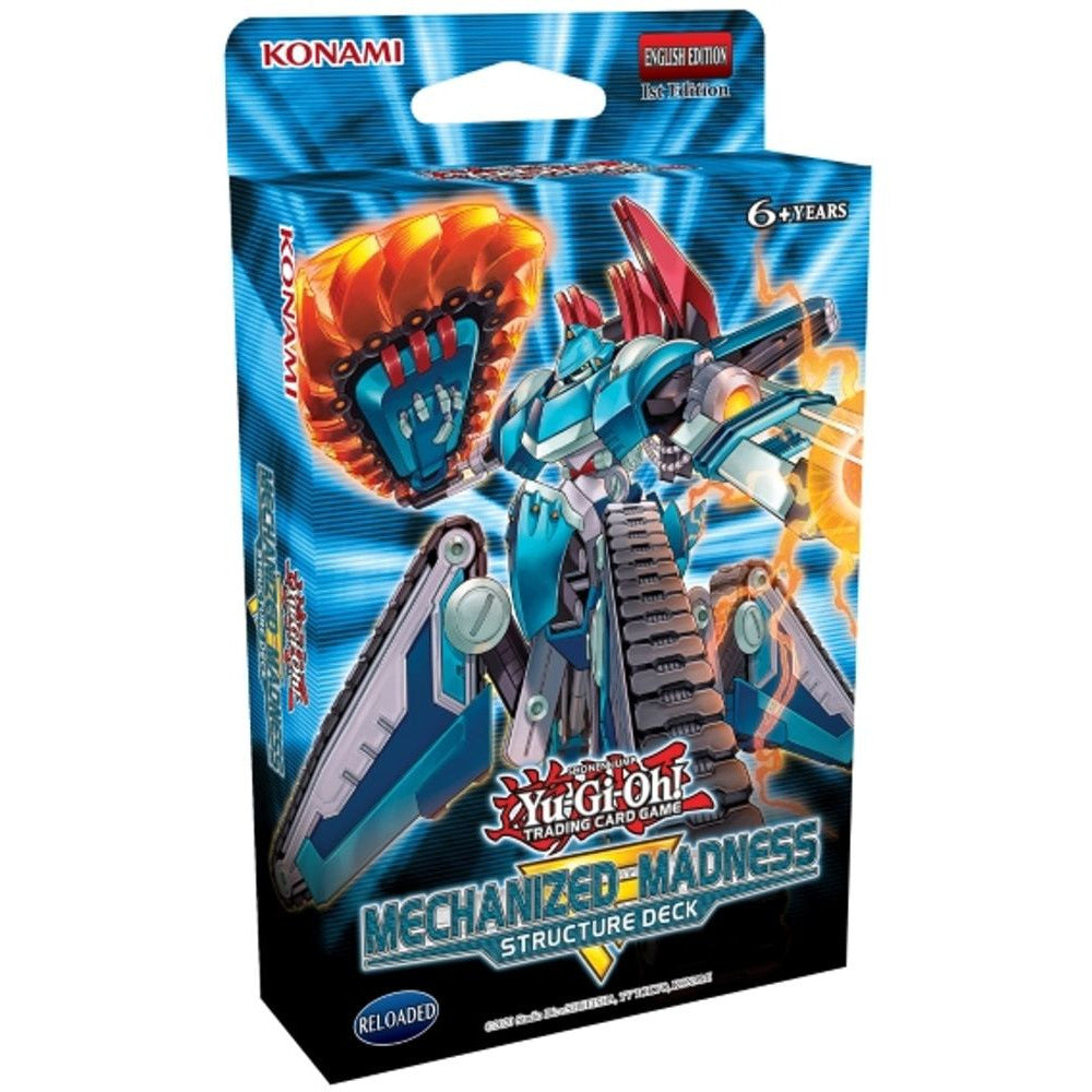 Yu-Gi-Oh! TCG Structure Deck: Mechanized Madness