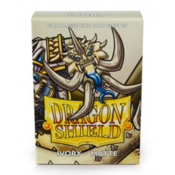 Dragon Shield Small Sleeves - Japanese Matte Ivory (60 Sleeves)