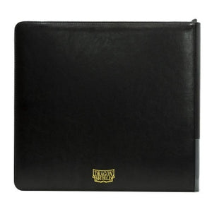 Dragon Shield Card Codex Zipster Binder - XL Black