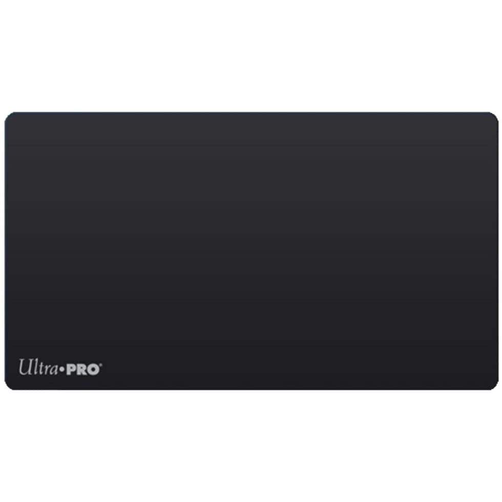 Ultra-Pro Solid Black Playmat for Card Games and Workstations