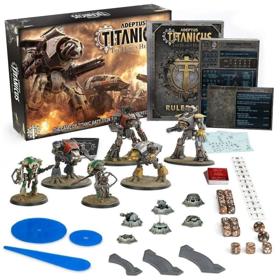 Adeptus Titanicus: The Horus Heresy (PEGI 12) - 2 Player Set