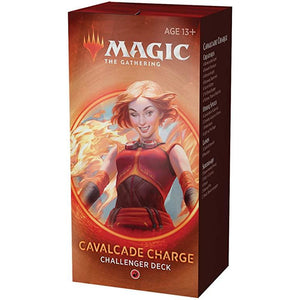 Magic the Gathering - Mtg Challenger Deck 2020 : Cavalcade Charge (R)