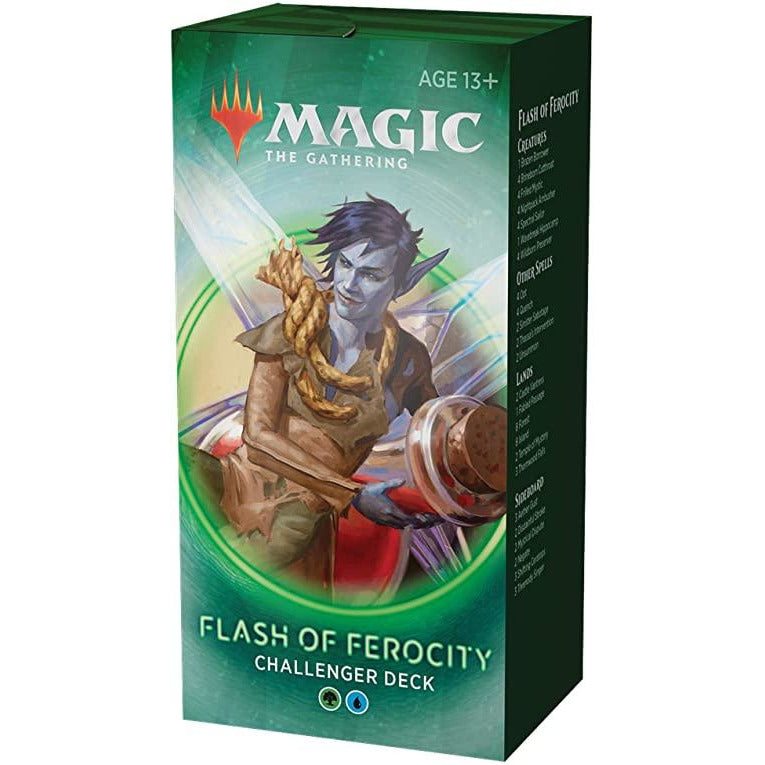 Magic the Gathering - Mtg Challenger Deck 2020 : Flash of Ferocity (UG)
