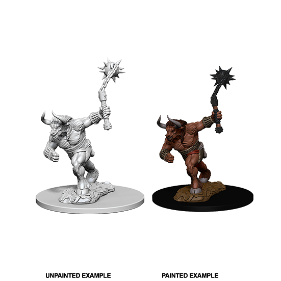 D&D Nolzur's Marvelous Miniatures: Minotaur - WAVE 2