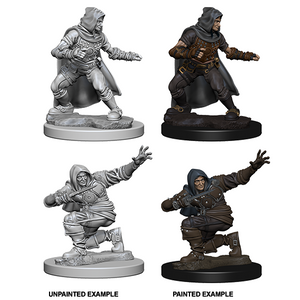 Pathfinder Deep Cuts Unpainted Miniatures: Human Male Rogue - WAVE 1