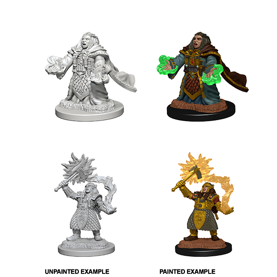 D&D Nolzur's Marvelous Miniatures: Dwarf Cleric Female - WAVE 4
