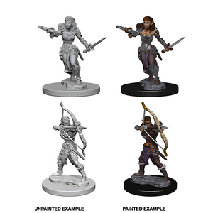 D&D Nolzur's Marvelous Miniatures: Elf Ranger Female - WAVE 1