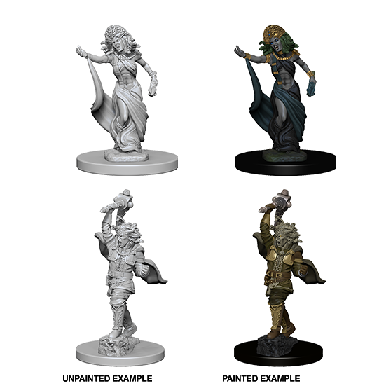 D&D Nolzur's Marvelous Miniatures: Medusas - WAVE 4