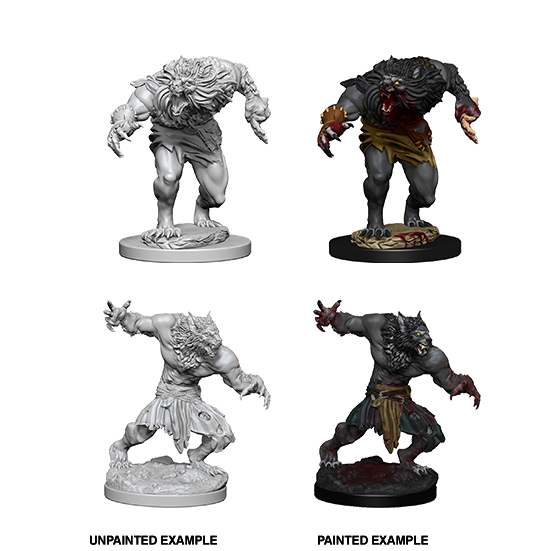 D&D Nolzur's Marvelous Miniatures: Werewolves - WAVE 4