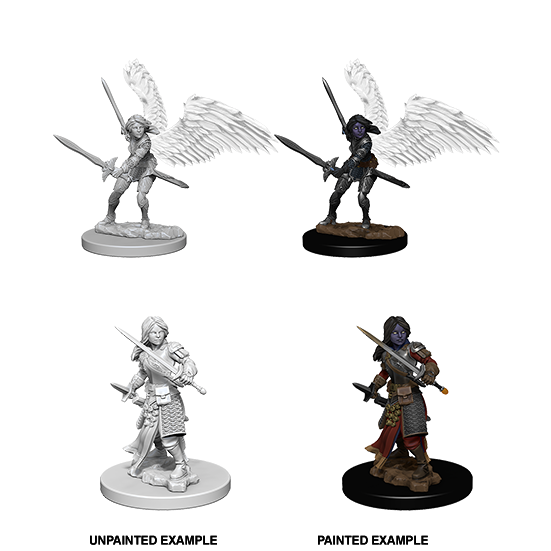 D&D Nolzur's Marvelous Miniatures: Aasimar Paladin Female - WAVE 5