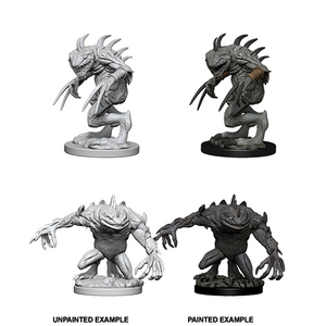D&D Nolzur's Marvelous Miniatures: Gray Slaad & Death Slaad - WAVE 5