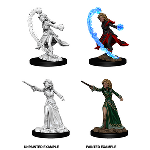 Pathfinder Battles Deep Cuts: Female Human Wizard - WAVE 6
