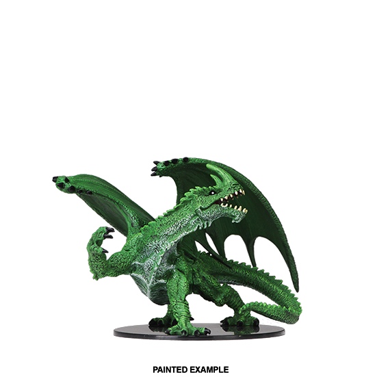 Pathfinder Battles Deep Cuts: Gargantuan Green Dragon - WAVE 6