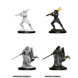 D&D Nolzur's Marvelous Miniatures: Human Paladin Female - WAVE 10