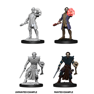 D&D Nolzur's Marvelous Miniatures: Human Warlock Male - WAVE 10