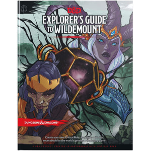 Dungeons & Dragons 5th Edition RPG Adventure Explorer's Guide to Wildemount