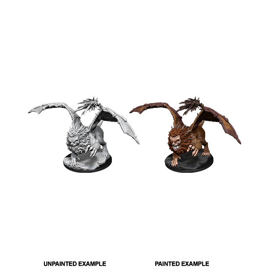 D&D Nolzur's Marvelous Miniatures: Manticore - WAVE 12