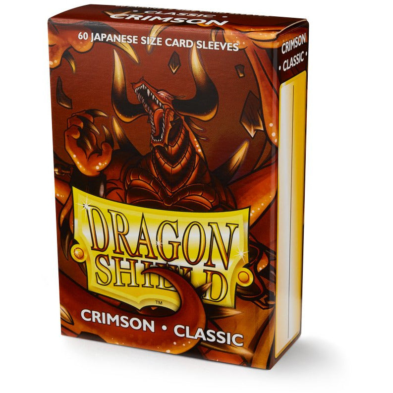 Dragon Shield Japanese Art Sleeves - Classic Crimson (60 Sleeves)