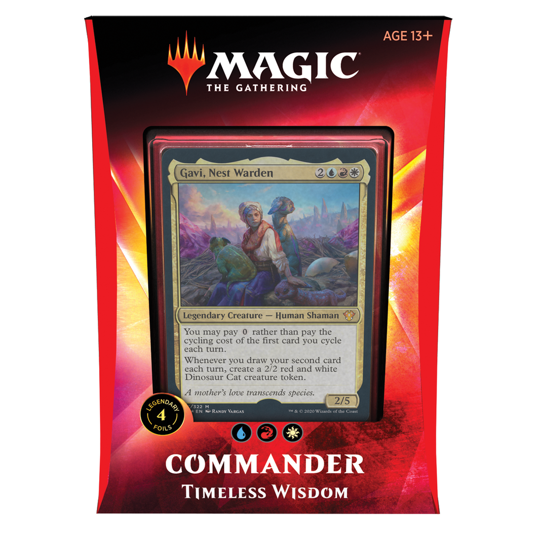Magic the Gathering Commander Ikoria 2020 : Timeless Wisdom Deck