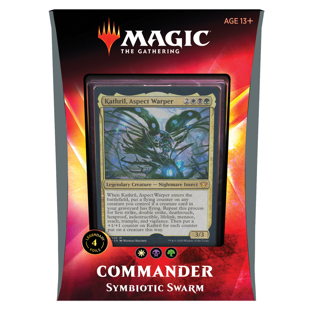 Magic the Gathering Commander Ikoria 2020 : Symbiotic Swarm Deck
