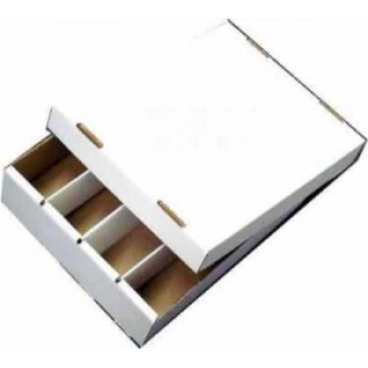 Cardbox: Fold-out Box with Lid for Storage of 4.000 Cards